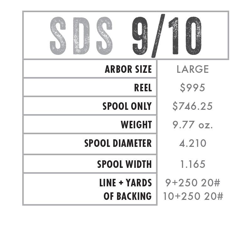 SDS 9/10 Specs